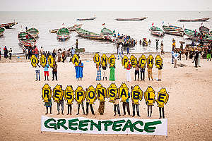 World Oceans Day in Senegal. © Clément  Tardif