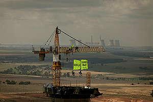 Action at Kusile Power Station in Africa. © Benedicte  Kurzen