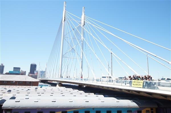 #Bridgesnotwalls