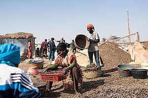 Protest against Coal Plant Construction in Senegal. © Clément  Tardif