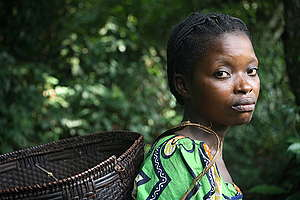 Woman in Congo. © Kate Davison