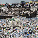 Plastic Waste in Kinshasa, DRC. © Junior D. Kannah / Greenpeace