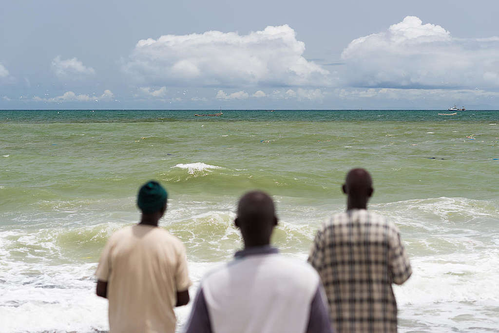 Fathers of Lost Fishermen in Senegal. © Clément  Tardif / Greenpeace