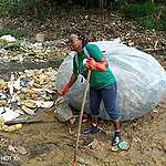 What are the causes and effects of water pollution in Africa?