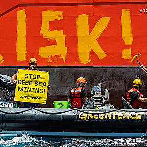 Deep sea mining tests indicate significant disturbance, Greenpeace reveals