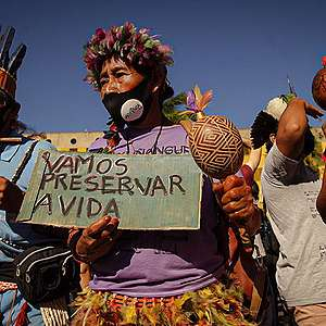 Indigenous communities in danger of being erased from the map in Brazil