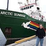 Mi viaje como voluntaria en el buque Arctic Sunrise
