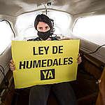 Sobrevolamos el Delta del Paraná y documentamos desde el aire la magnitud de los incendios