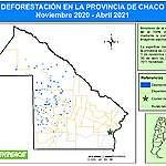 A pesar de que la Justicia suspendió los desmontes, en Chaco arrasaron casi 8.000 hectáreas de bosques