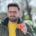 Challenge de Greenpeace: Damián Betular pone a prueba el sabor del tomate