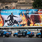 Las mejores fotos de acciones de Greenpeace 2020