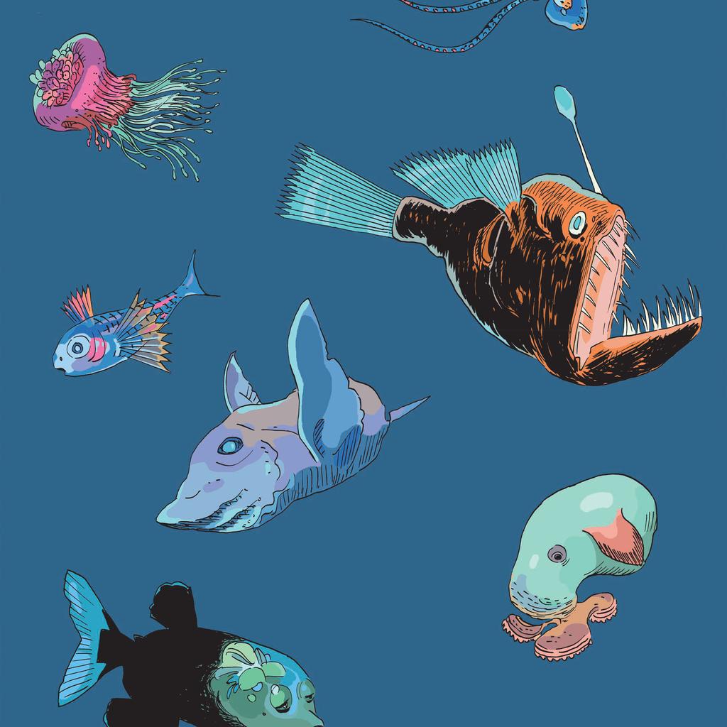 ©CASANAVE _ REEVES _ VANDERMEULEN 2019 image issue de Hubert Reeves nous explique les océans à paraître aux Éditions du Lombard le 11 octobre 201