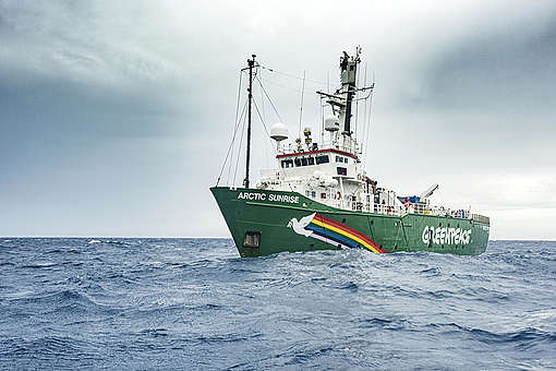 De Arctic Sunrise