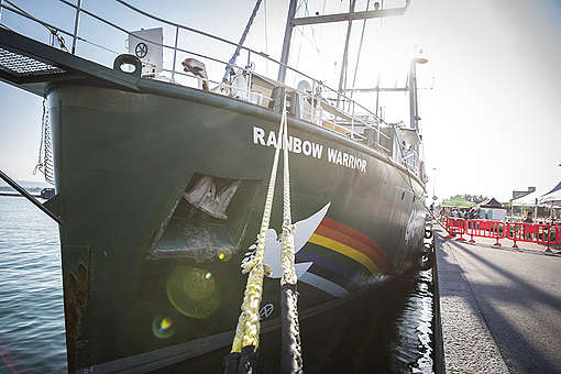 De Rainbow Warrior