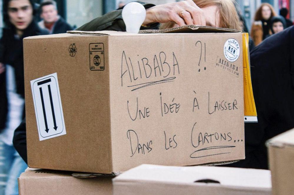 Participez à la semaine d'actions contre Alibaba
