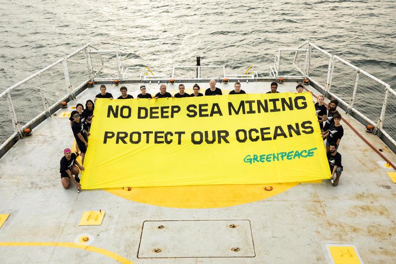 Belgische diepzeemijnbouwtests in de Stille Oceaan