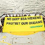 Réaction de Greenpeace au vote de la résolution de la Chambre: «L'exploitation minière en eaux profondes met en jeu l'avenir de la planète»