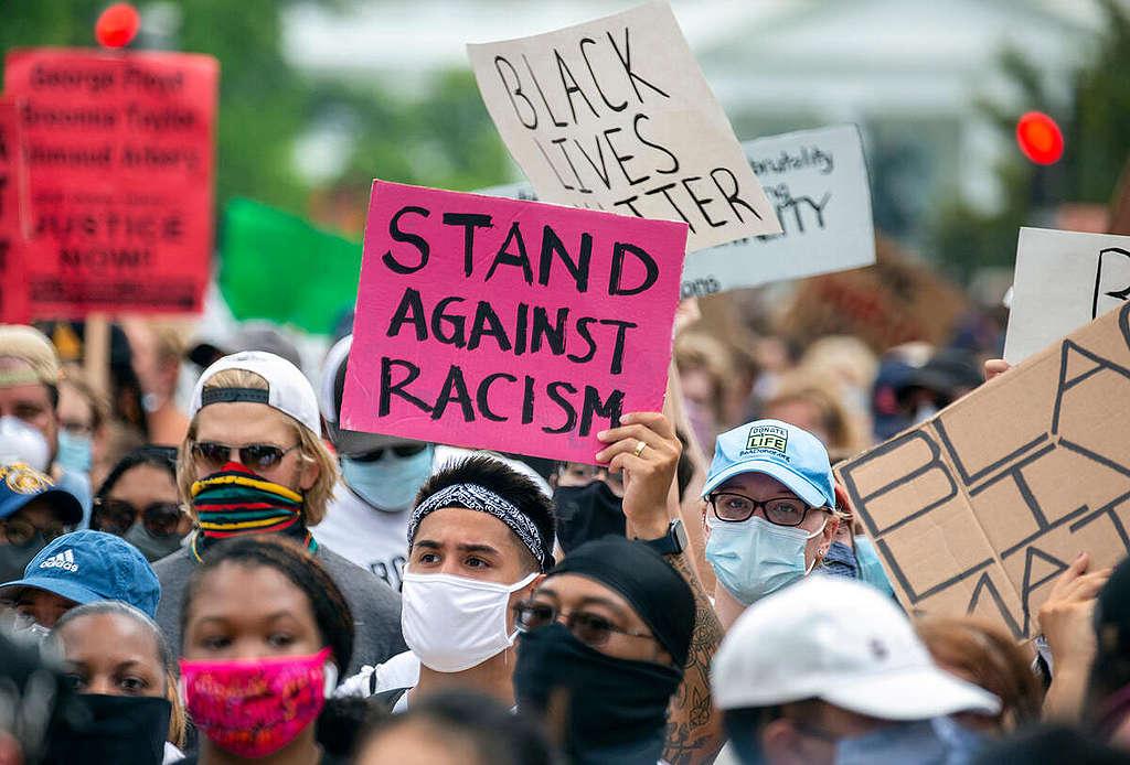 Waarom wij als Greenpeace een standpunt innemen tegen racisme