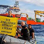 Exploitation minière en eaux profondes: Greenpeace prend des mesures contre une entreprise belge dans l'océan Pacifique