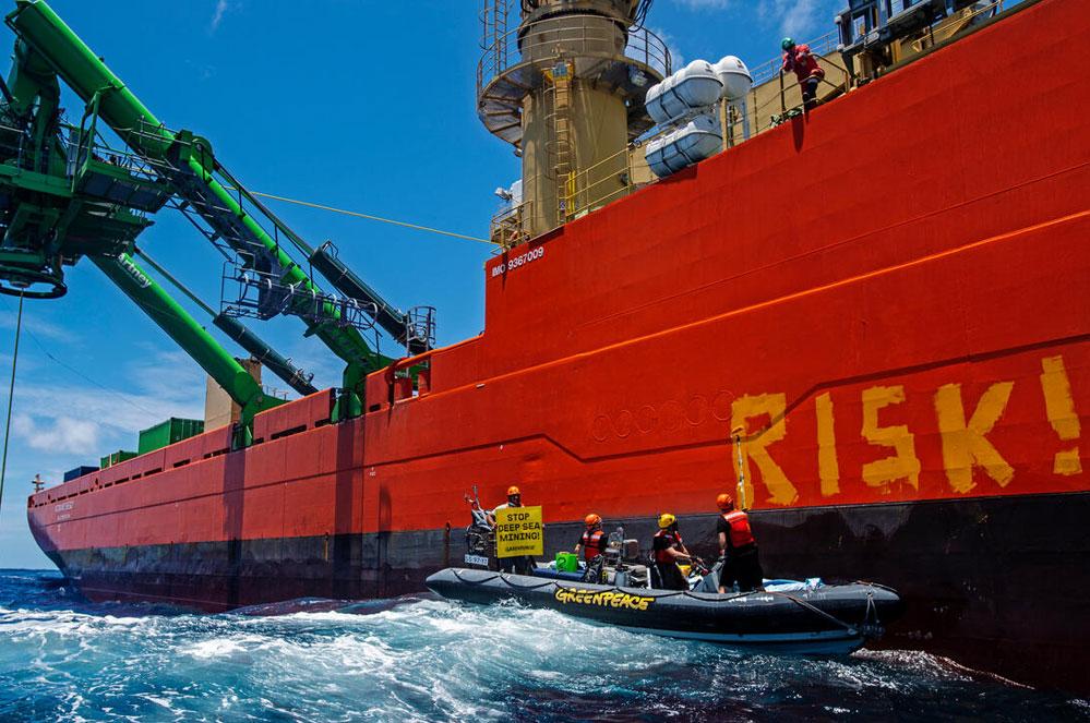 Nieuwe acties tegen diepzeemijnbouw
