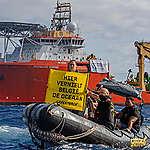 Diepzeemijnbouw:  Greenpeace voert actie tegen Belgisch bedrijf in de Stille Oceaan