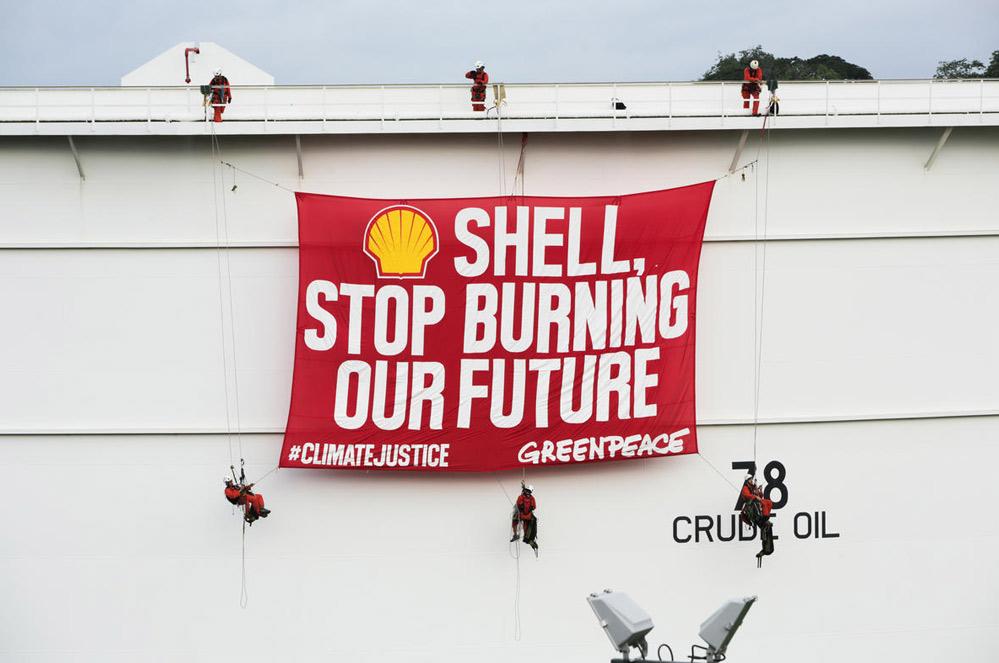 Victoire historique dans l'affaire du climat contre Shell