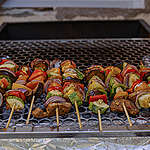 Daar zijn weer die mooie dagen… met een veggie barbecue op het menu!