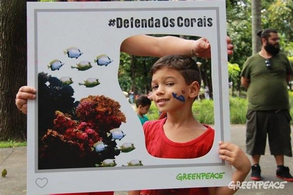 A foto com os corais foi uma das ações realizadas em várias cidades, como Belo Horizonte.