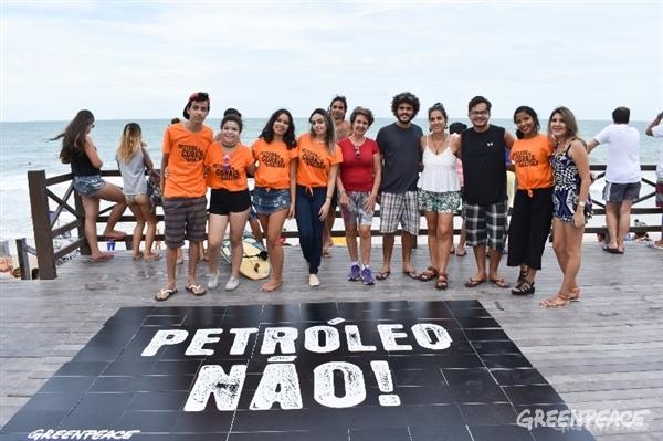 Comemoração do Dia Mundial dos Corais da Amazônia em Natal (Crédito: Vitor Arrais / Greenpeace)