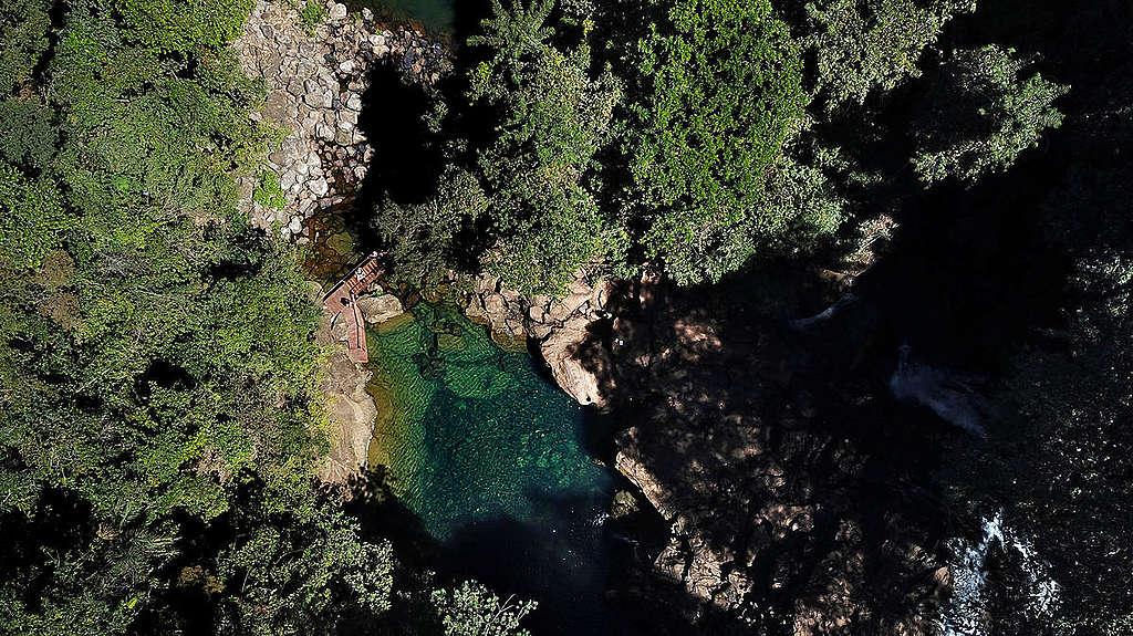 """O Cerrado é conhecido como """"Berço das Águas"""", devido sua enorme capacidade de reter água e recarregar aquíferos importantes."""
