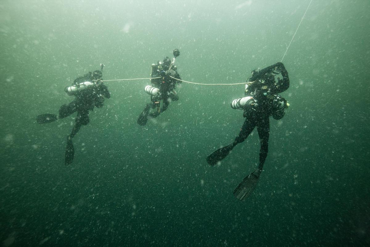 Deep Divers in the Amazon Reef. © Pierre Baelen / Greenpeace