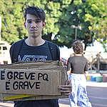 Greve Global pelo Clima em Macapá, no Amapá, em 20 de setembro