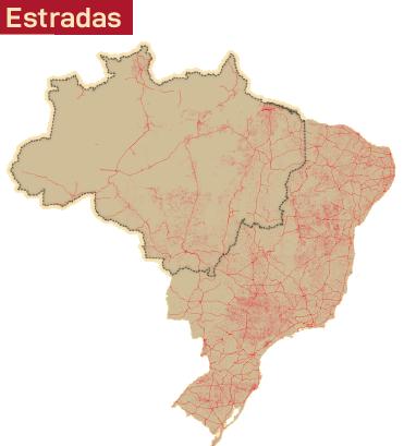 Mapa estradas