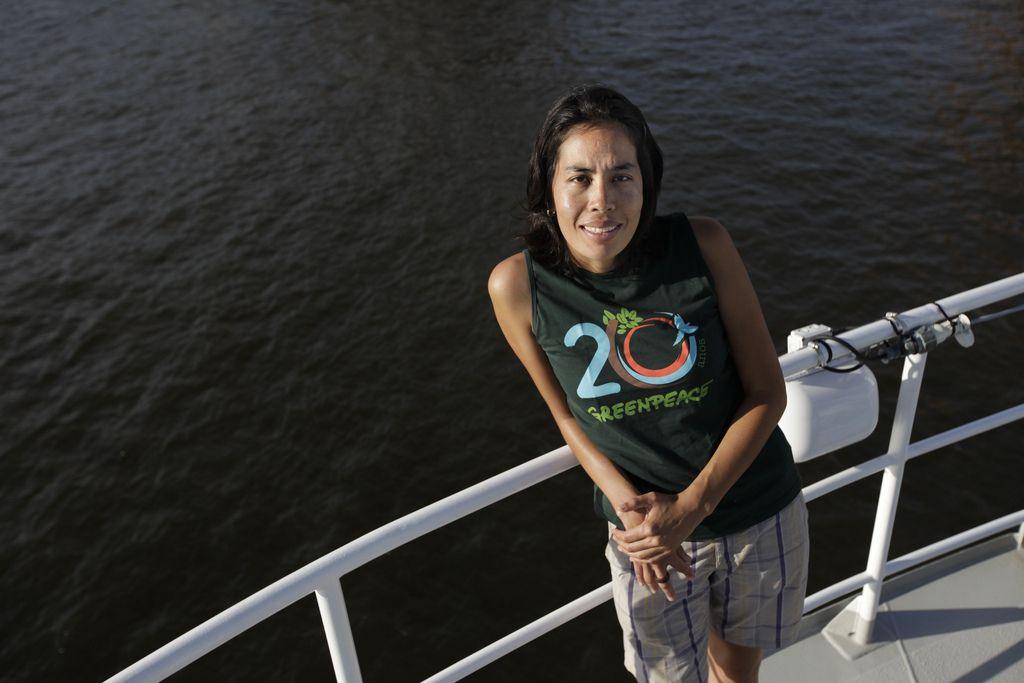 Tatiana de Carvalho Foto: © Karla Gachet/Greenpeace
