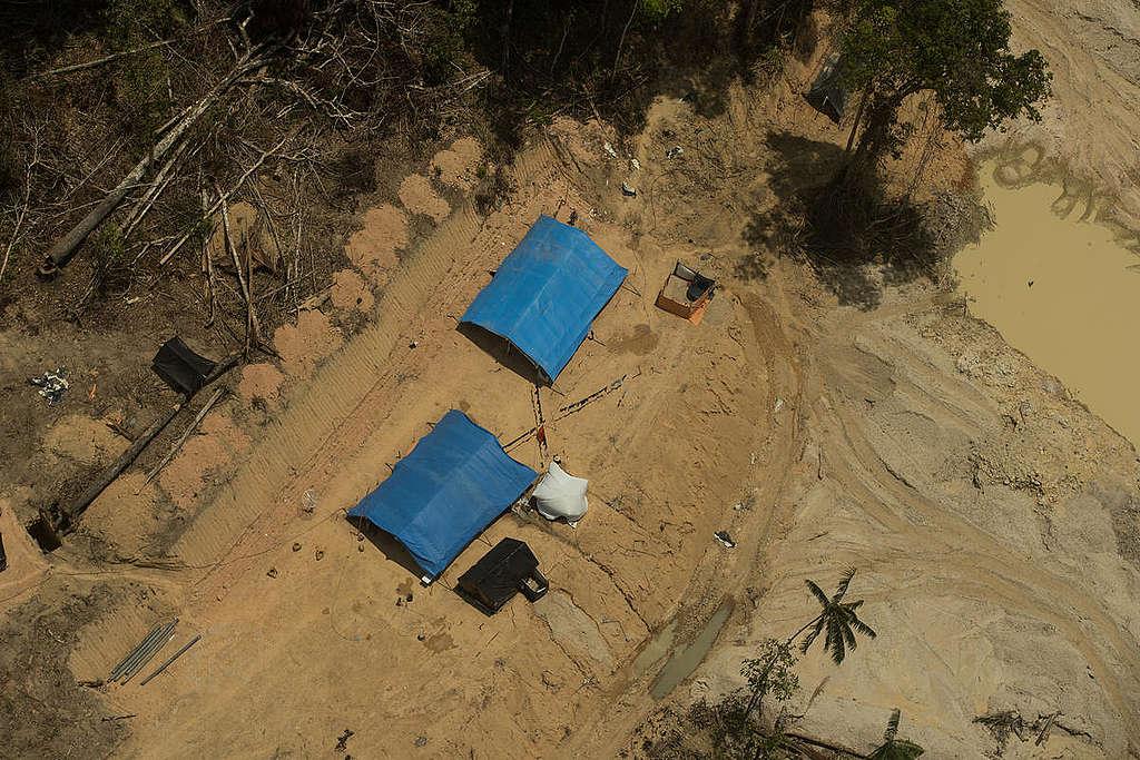 garimpo ilegal em terra indígena
