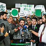 Nota de desagravo à tentativa de intimidação pelo ministro Ricardo Salles ao secretário-executivo do Observatório do Clima, Marcio Astrini