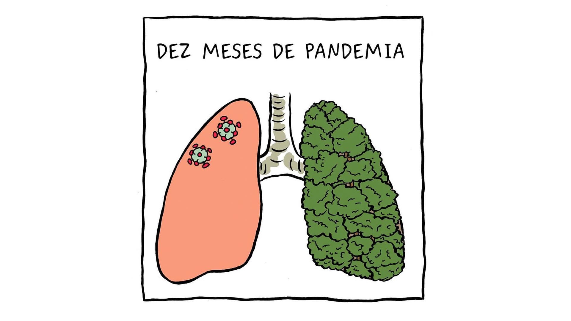 Pulmão 1 | Dez meses de pandemia