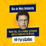 No Dia do Meio Ambiente, dê de presente um #ForaSalles para a natureza