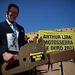 Arthur Lira ganha a Motosserra de Ouro 2021