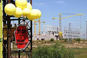 Action against Nuclear Plant in Bulgaria