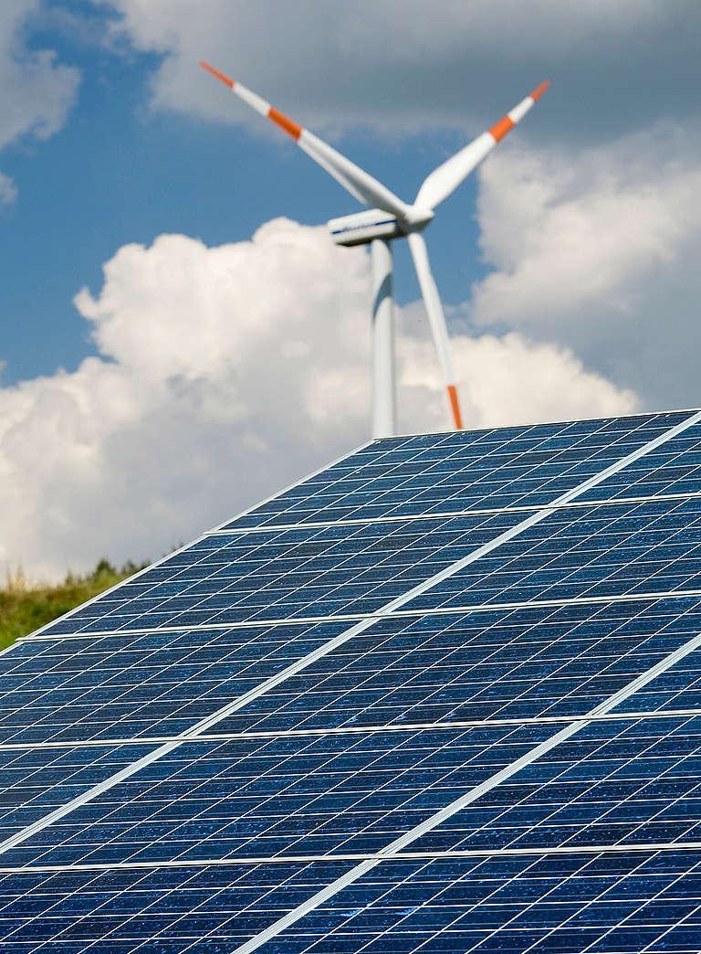 Renewable Energy Farm in Germany. © Paul Langrock