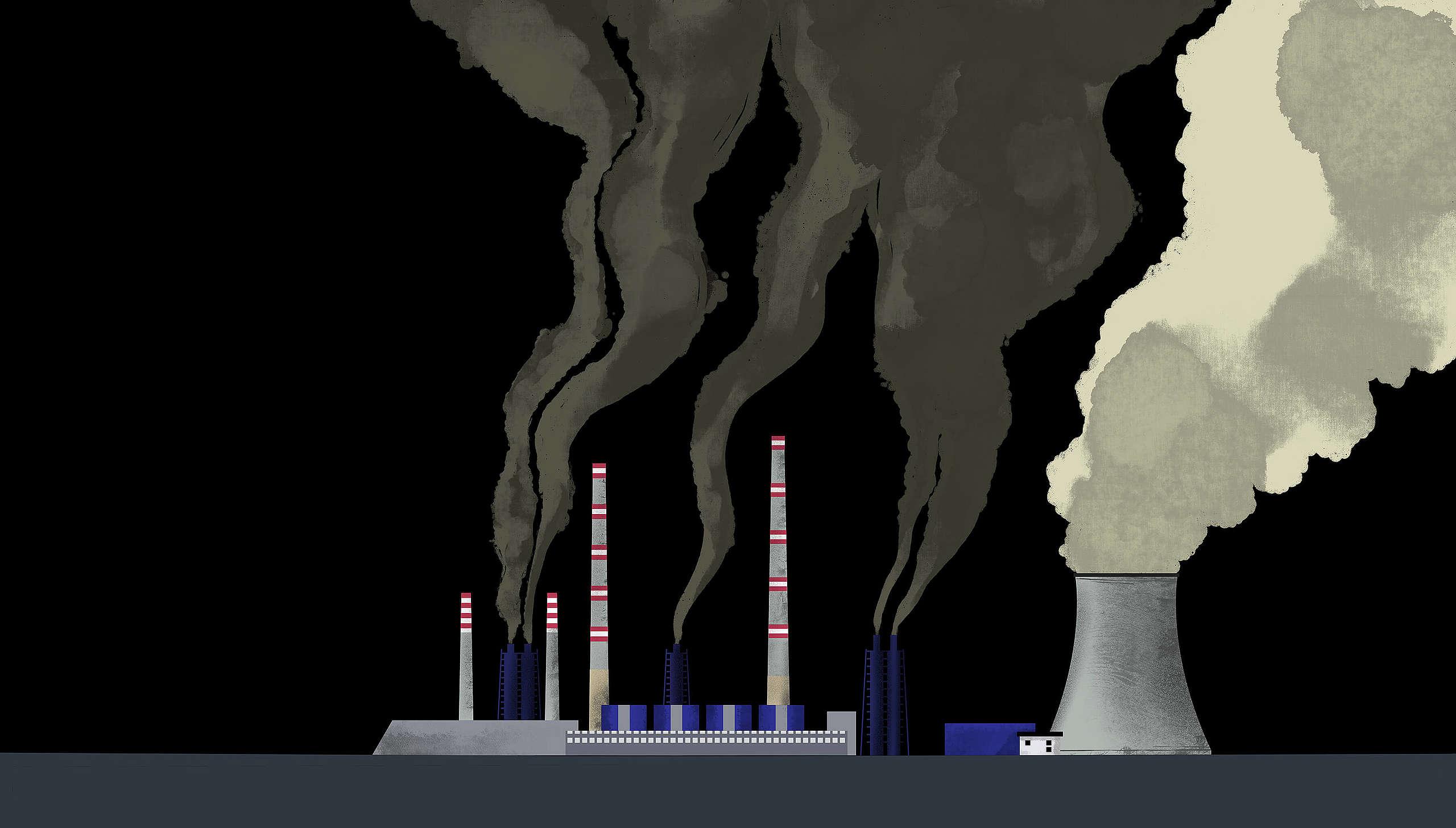 Марица Изток 2 – най-голямата въглищна електроцентрала на Балканите, илюстрация