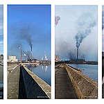 """Снимките от ТЕЦ """"Брикел"""" донесоха поредица от актове, но не и край на замърсяването"""