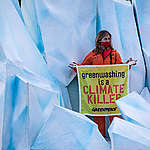 Акция в защита на климата в Рим