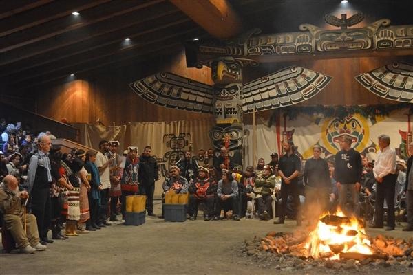 Special Greenpeace Ceremony at Willie Family Potlatch - Jill Hirschbold, photographer