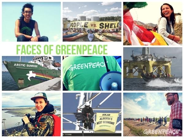 Faces of Greenpeace