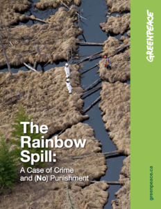 The Rainbow Spill: A Case of Crime and (No) Punishment