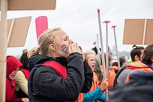 "G20 ""Protest Wave"" Rally in Hamburg. © Bente Stachowske"