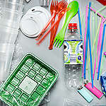 Product Shot of Plastic Items. © Fred Dott