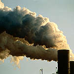 Exxon Oil Refinery, New York City Harbour, USA. © Greenpeace / Robert Visser